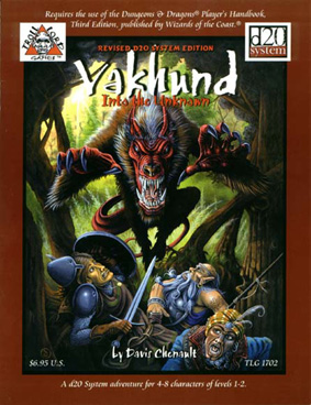 Death in the Treklant 1: Vakhund