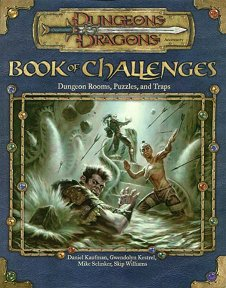 Book of Challenges: Dungeon Rooms, Puzzles and Traps
