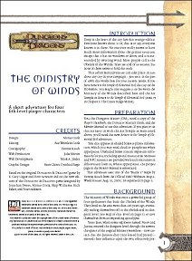 The Ministry of Winds