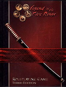 Legend of the Five Rings RPG 3e Core Rulebook