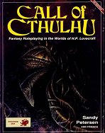 Call of Cthulhu 4e