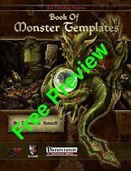 Book of Monster Templates Free Preview