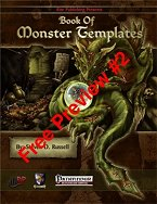 Book of Monster Templates Free Preview #2