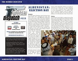 113: Albenistan: Election Day