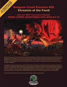 Chronicle of the Fiend
