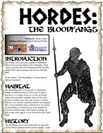 Hordes: The Bloodfangs
