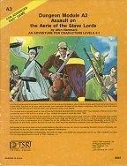A3: Assault on the Aerie of the Slave Lords