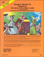 A3: Assault of the Aerie of the Slave Lords