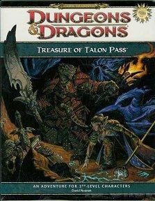 Cover of Treasure of Talon Pass