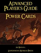 Advanced Player's Guide Power Card Pack