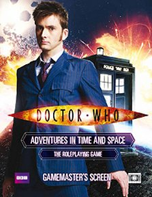 Doctor Who Gamemaster's Screen