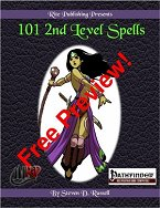 101 2nd Level Spells Free Preview