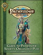 Guide to Pathfinder Society Organised Play 4e