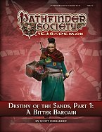 Destiny of the Sands 1: A Bitter Bargain