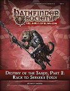 Destiny of the Sands 2: Race to Seeker's Folly