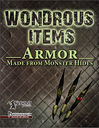 Armour Made from Monster Hides