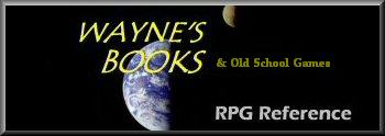 Wayne's Books and Old-Style Games