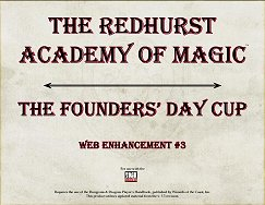 The Founders` Day Cup